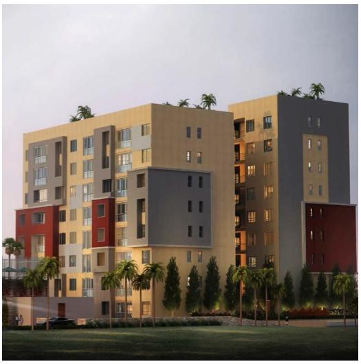 GREENWOOD CITY Apartments, MERU