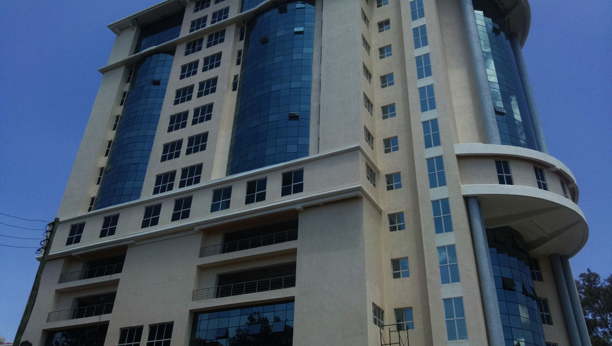 FLAMINGO TOWERS A-class offices, UPPERHILL